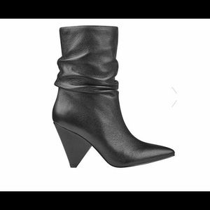 GUESS Nakitta Slouchy Cone-Heel Booties
